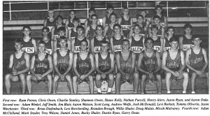 1996 Boys Cross Country